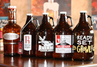 Growler lineup - enjoy 42 different beers to go at GrowlerGrlz