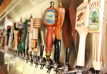 Choose from 42 taps of beers across all styles